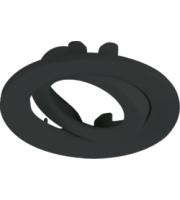ML ACCESSORIES Adjustable Black Tilt Bezel For VFR8 Led IP20 Downlights