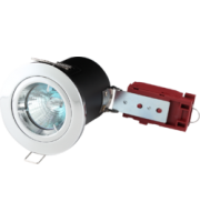 ML ACCESSORIES Fire-rated Die-cast Lv Downlight 50mm Chrome