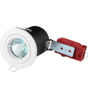 ML ACCESSORIES Fire-rated Die-cast Lv Downlight 50mm White