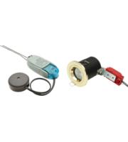 ML ACCESSORIES IP20 Fire-rated Lv Tilt Downlight Kit 50mm Chrome