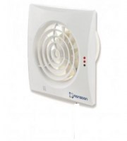 Monsoon Silence Timer Extract Fan with PIR (White)