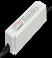 Meanwell IP67 25W Single Output Dimmable LED Driver (White)