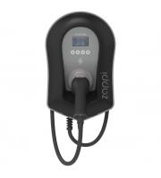MYENERGI Zappi Eco-smart Ev Charge Point 22kW 3ph Type 2 Tethered (Black)