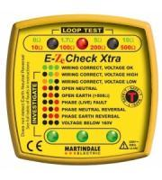 Martindale EZ150 EZE Check XTRA Earth Loop Impedance Tester (Yellow)