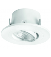 Megaman 5W Anna Intergrated Led Downlight 2800K, Ra80, 350lm