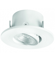 Megaman 5W Anna Intergrated Led Downlight 4000K, Ra80, 350lm