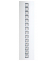 Megaman Estela 30W Integrated Louvre Rectangle 4000K, Ra80, 3500lm