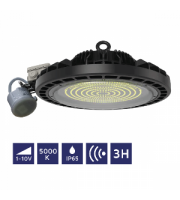 NET LED Orwell High Bay 200W 5000K Motion & Emergency
