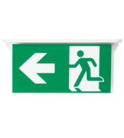 NET LED Bourne Left Arrow For Suspended Exit Sign