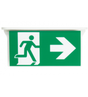NET LED Bourne Right Arrow For Suspended Exit Sign