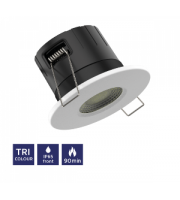 NET LED Tadlow 90 Minute Fire Rated Tri-colour Downlight Standard