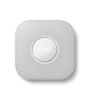 Nest 2nd Generation Smoke & Carbon Monoxide Alarm Lithium Battery Powered (White)