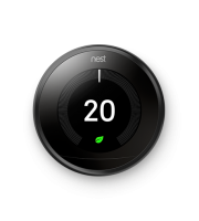 Nest 3rd Generation Learning Thermostat (Black)