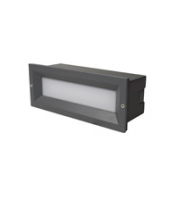Robus Tibo 13W Led Brick Light, 3000K, IP65, Dark Grey