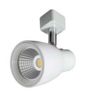 Robus Troy 10W Led Track Spot, IP20, White, 4000K