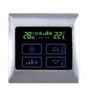 Retro Touch AC2000T Electric AC Touch Thermostat (Brushed Aluminium)