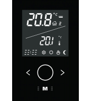 Retrotouch Boutique Electric Thermostat Switch 16a V3 - IV2000BMG (Black)