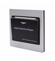 Retrotouch Energy Key Card Saver Chrome With (Black)