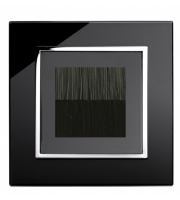 Retrotouch Crystal Bristle Brush Socket (Black CT)