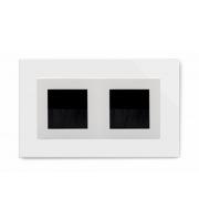 Retrotouch Crystal Double Bristle Brush Socket (White PG)