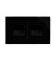 Retrotouch Crystal Double Bristle Brush Socket (Black PG)