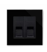 Retrotouch Crystal Ct Dual Hdmi / Video / Phono Socket (Black)