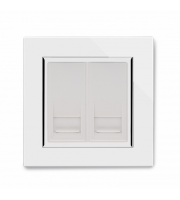 Retrotouch Crystal Dual Bt Master Socket (White)