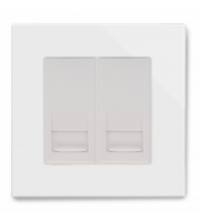 Retrotouch Crystal Pg Dual Bt Master Socket (White)