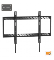 Retrotouch X-large Heavy Duty Fixed Curved Flat Tv Wall Mount 60-100
