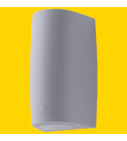 FUMAGALLI MARTA 90 1L GREY FROSTED GU10 LED 3,5W CCT SET FUMAGALLI WALL LIGHT (Grey)