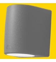 FUMAGALLI MARTA 160 1L GREY FROSTED GX53 LED 10W CCT SET FUMAGALLI WALL LIGHT (Grey)
