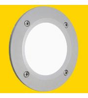 FUMAGALLI LETI 100 ROUND GREY OPAL GX53 LED 3W CCT SET FUMAGALLI STEPLIGHT (Grey)