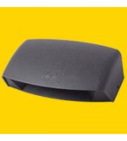 FUMAGALLI ABRAM 190 BLACK CLEAR R7S LED 8,5W 4K FUMAGALLI UP DOWN WALL LIGHT (Black)
