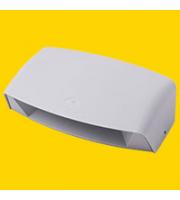 FUMAGALLI ABRAM 190 GREY CLEAR R7S LED 8,5W 4K FUMAGALLI UP DOWN WALL LIGHT (Grey)