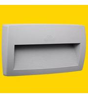 Fumagalli Lorenza 270 Grey Clear R7s Led 11w 4k Fumagalli Wall Light (Grey)