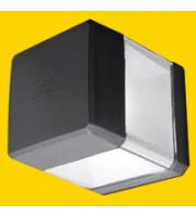 Fumagalli Elisa Wall Black Clear GX53 Led 7w Cct Set Wall Light (Black)
