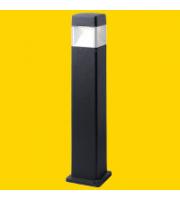 Fumagalli Elisa 800 Black Clear GX53 Led 10w Cct Set Fumagalli Bollard (Black)