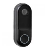 Robus DOORBELL CONNECT, WIFI, with 1080p camera, 2-way audio, IP44, Black