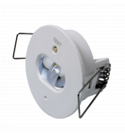 Robus DESMOND 1.5W Non-Maintained 40 mm Emergency LED Downlight LiFePO4 Battery Corridor white
