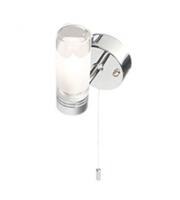 Robus Canon 25W G9 Single Bathroom Wall Light, IP44, Chrome