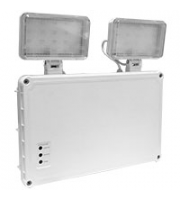 Robus MUSTER 5W LED Twin Spot, IP65, Self test, White