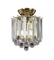 Endon Lighting Fargo 2lt Flush Ceiling Light (Brass) SALE