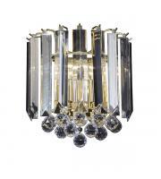 Endon Lighting Fargo Twin Wall Light (Brass) SALE