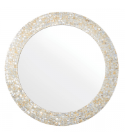 Endon Home Bexley Round Wall Mirror (Mirrored Glass)