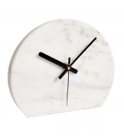 Endon Home Davenport Mantel Clock (White Marble)