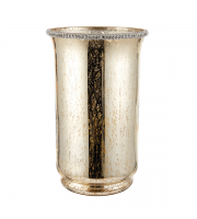 Endon Home Benchley Hurricane Lamp (Mercury Gold)