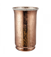 Endon Home Benchley Hurricane Lamp (Mercury Copper)