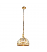 Endon Lighting Vienna 305mm Half Pendant (Brass) SALE ITEM