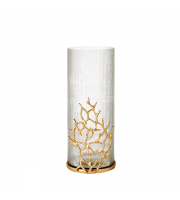 Endon Home Ingleby Decorative Vase (Clear Glass)