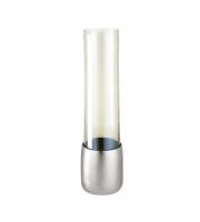 Endon Home Hendon Glass Vase (Pewter)